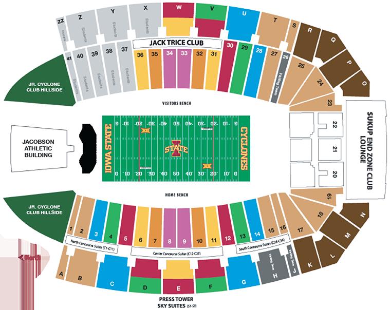 Football Seating Chart